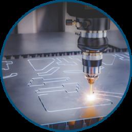 Metallbauunternehmen für Laser-Schneiden, Metallbau Nickel